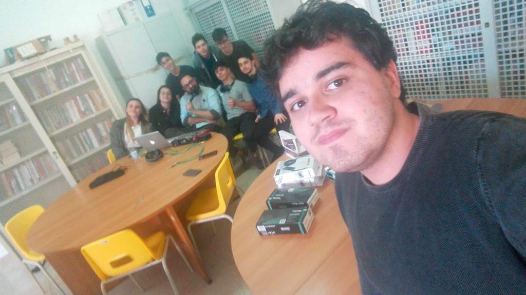 laboratorio radio scuola Mahmood Ultimo Sanremo Virgilio-Redi