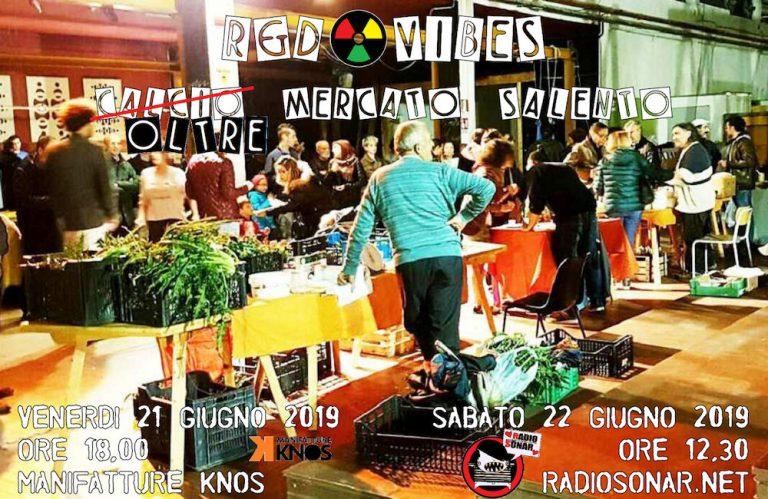 R&D Vibes live radio show Oltre Mercato Salento GAS Lecce Knos