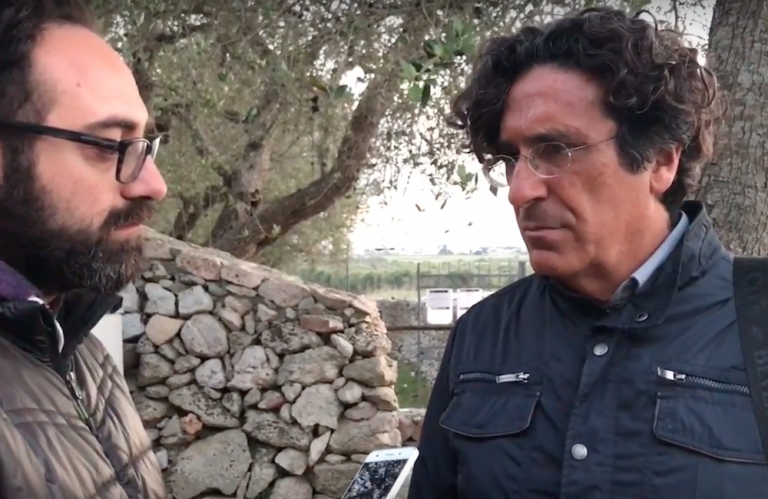 Luigi Russo Xylella radio video intervista Penna Verde