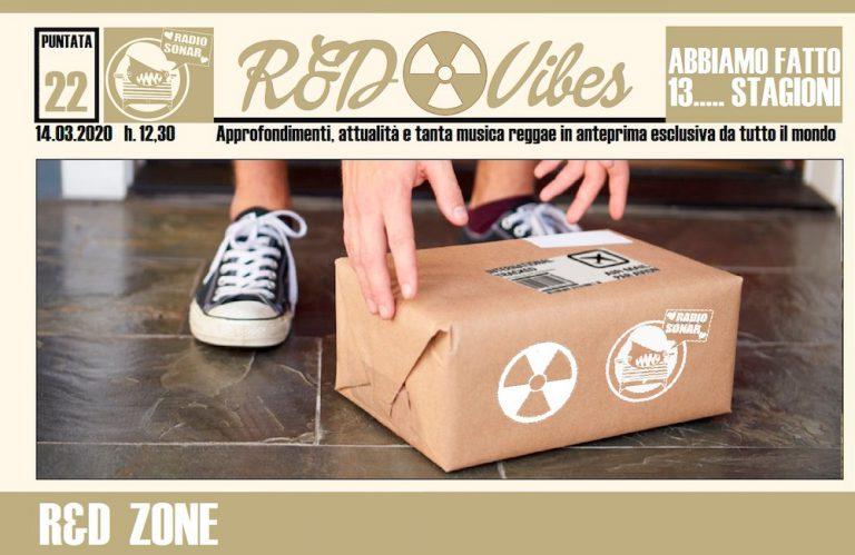 R&D Vibes reggae radio corona virus quarantena isolamento zona rossa casa web